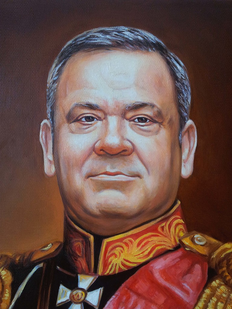 Портрет маслом на холсте в Тольятти
