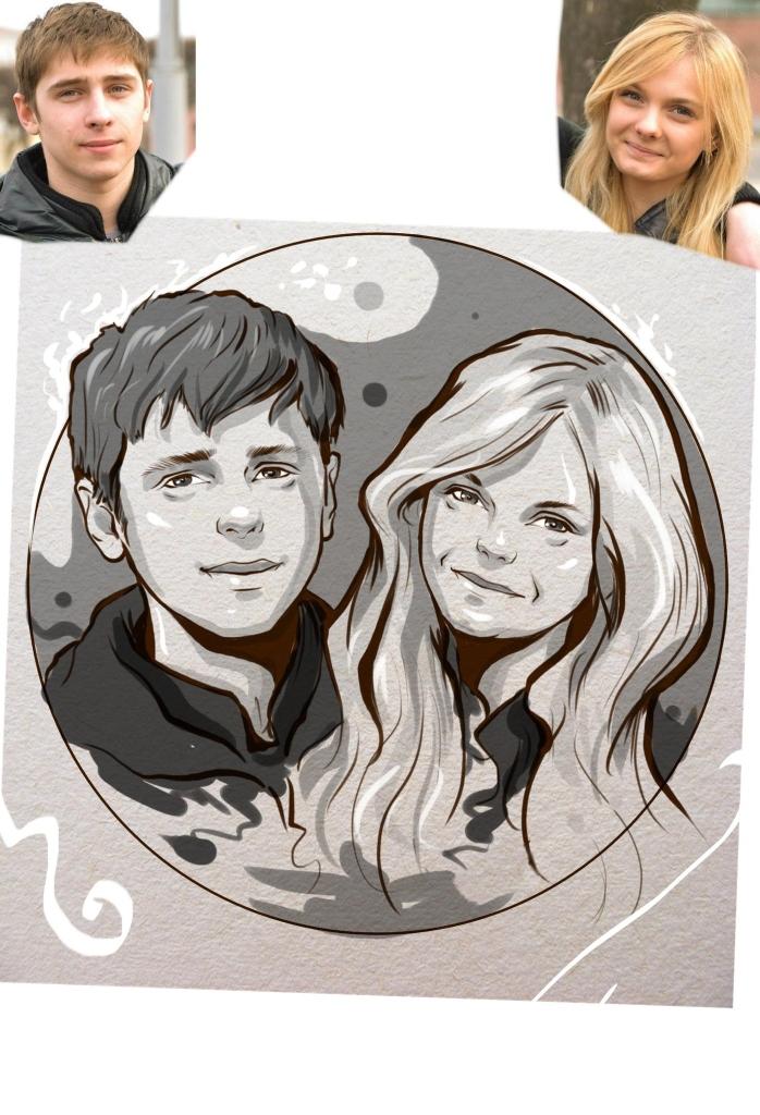 Заказать портрет на годовщину свадьбы в Тольятти