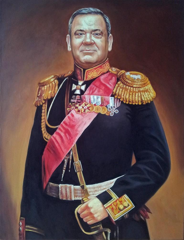 Где заказать портрет маслом в Тольятти?