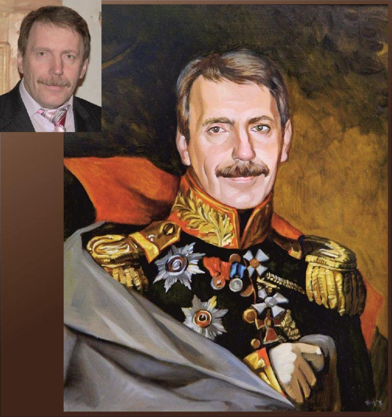 Настоящий портрет маслом на заказ в Тольятти…