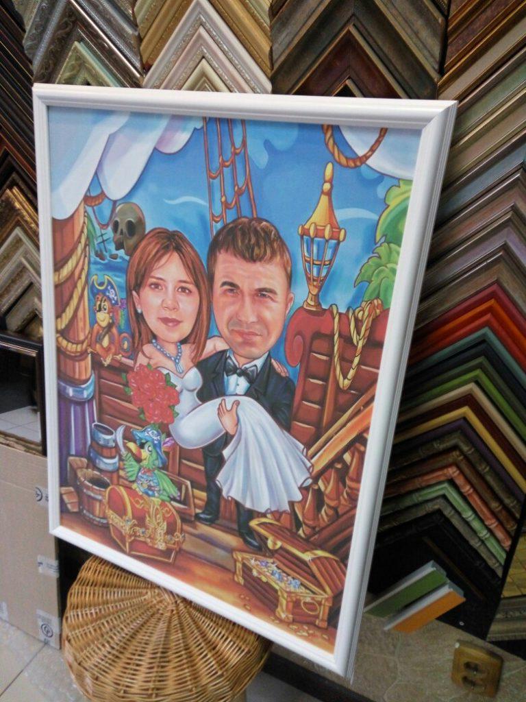 шарж по фото на заказ в Тольятти