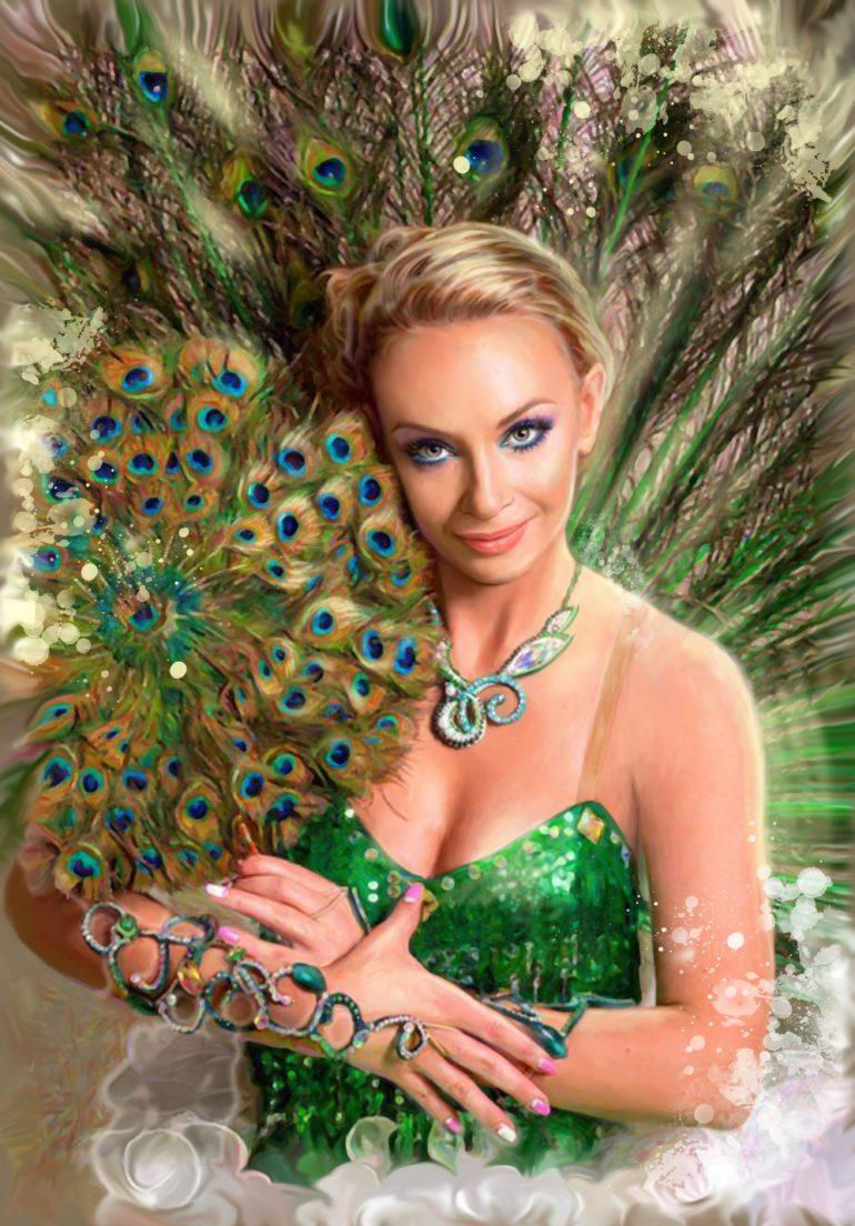 Портрет по фото, подарок на 14 февраля заказать Тольятти