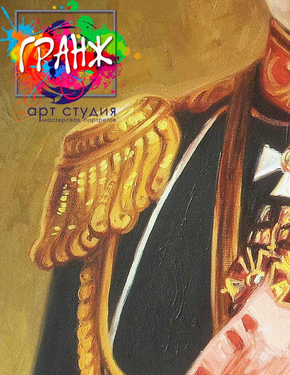 Заказать портрет маслом по фотографии в Тольятти